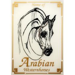 """Sparkling Plate """"Arabisches..."""